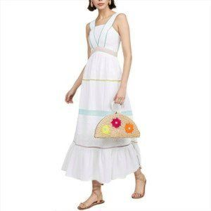 TIGERLILY Namita White Maxi Dress NWT RRP$349